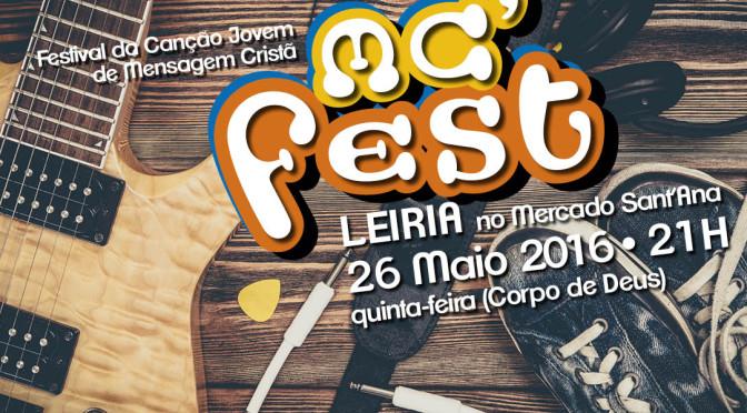 MC´FEST: o festival da canção de mensagem está aí!