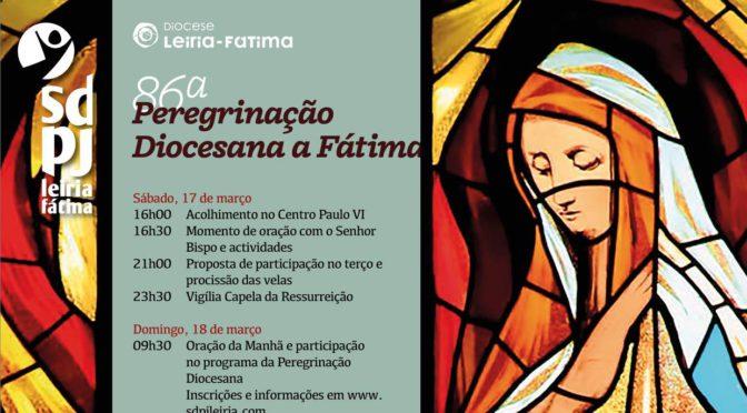 Peregrinação Diocesana a Fátima: Programa e Inscrição