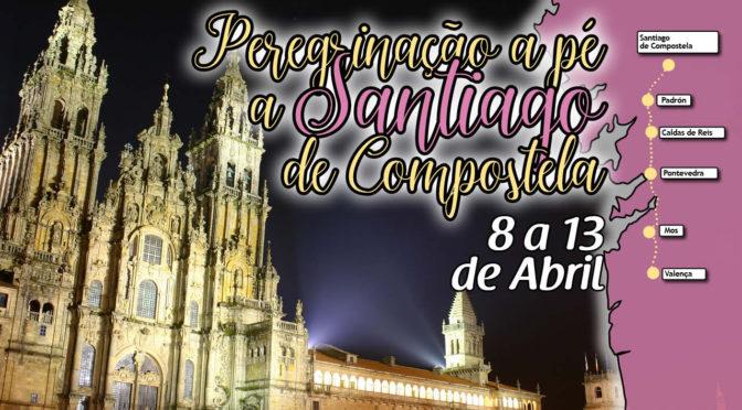 A pé até Santiago