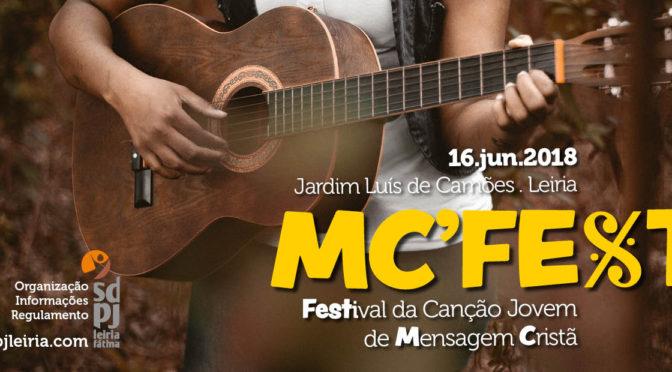 MC'Fest 2018 – Festival da Canção Jovem de Mensagem Cristã